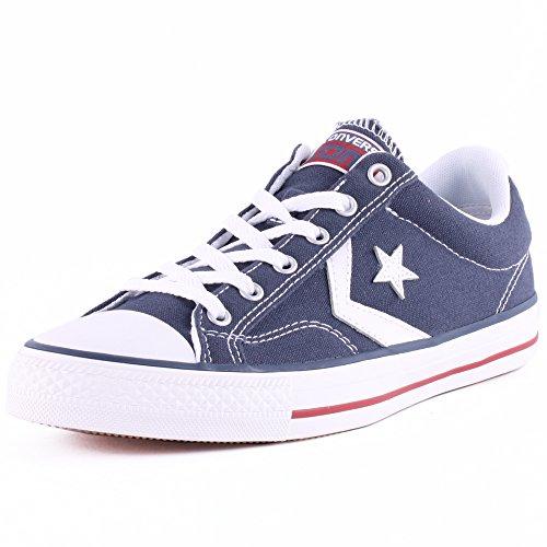 white Converse Ox Star Player Da adulto Unisex Blu Ginnastica navy Scarpe 410 7wfSwq