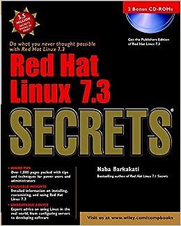 Book Red Hat Linux X Secrets
