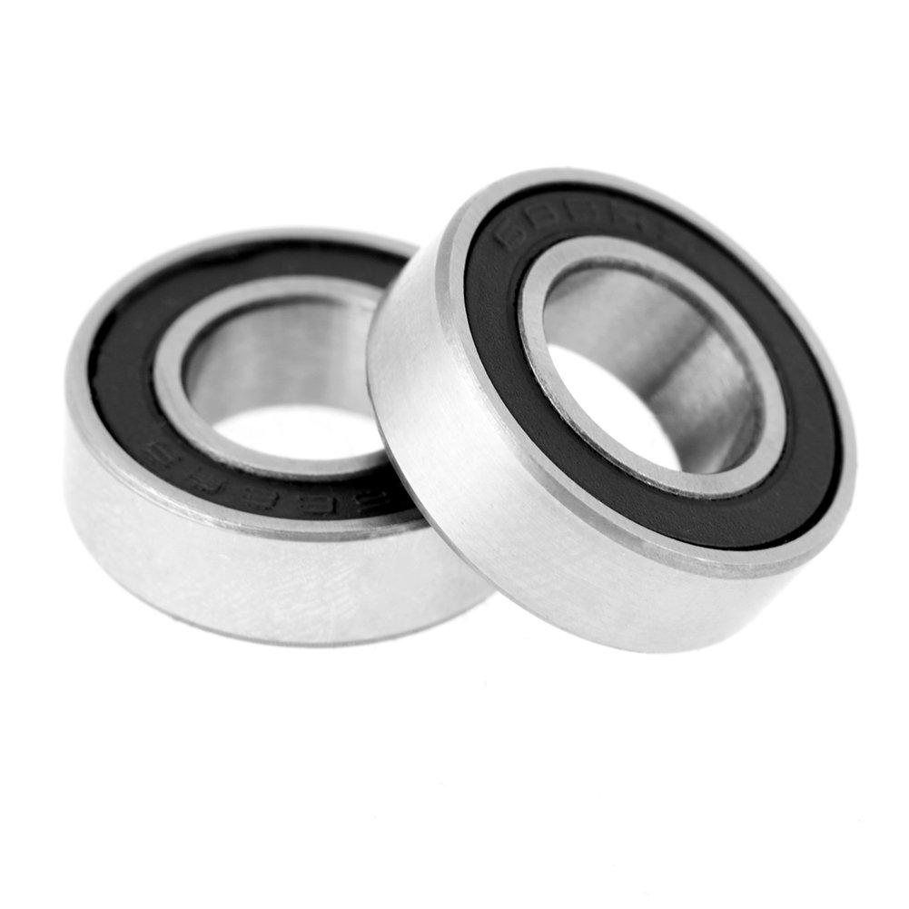10PCS 688-2RS 688 RS Rubber Sealed Ball Bearing Miniature Bearings 8x16x5mm SL