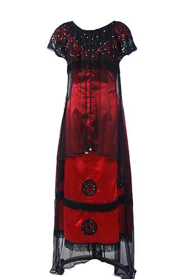 Daiendi - vestido de Rose de Titanic, disfraz, victoriano, talla de adulto