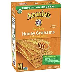 Annie's Organic Honey Graham Crackers (Pack of 4)