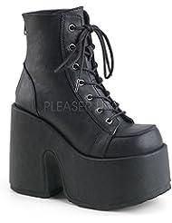 Demonia Womens Boots Camel-203