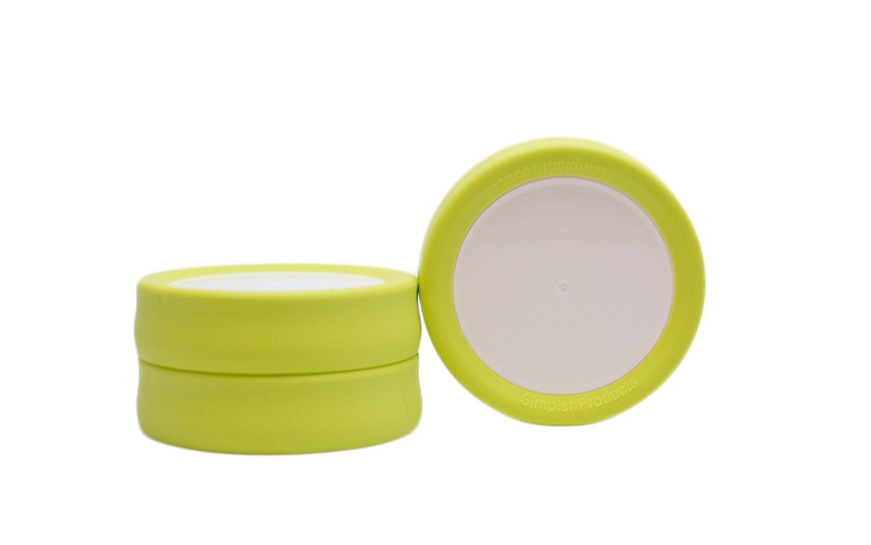 Tulid (Pack of 3) - Mason Jar Lids (Regular Size) - Reusable, leak-proof, BPA-free