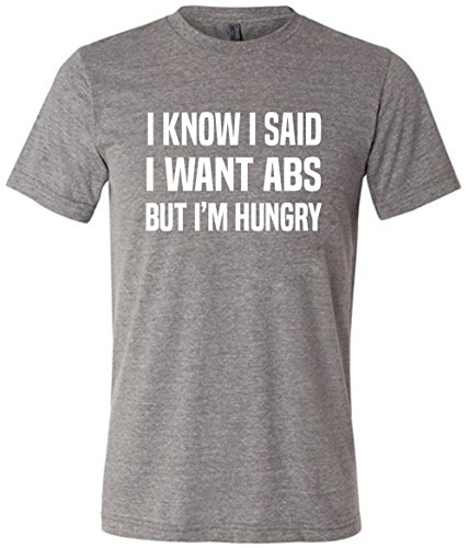 mens-i-know-i-said-i-want-abs-but-im-hungry-tee-shirt-workout-shirt-large-grey