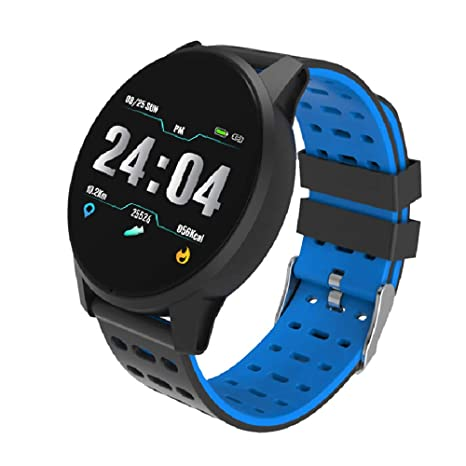 Amazon.com: B2 1.3inch TFT Smartwatch Dynamic Heart Rate ...