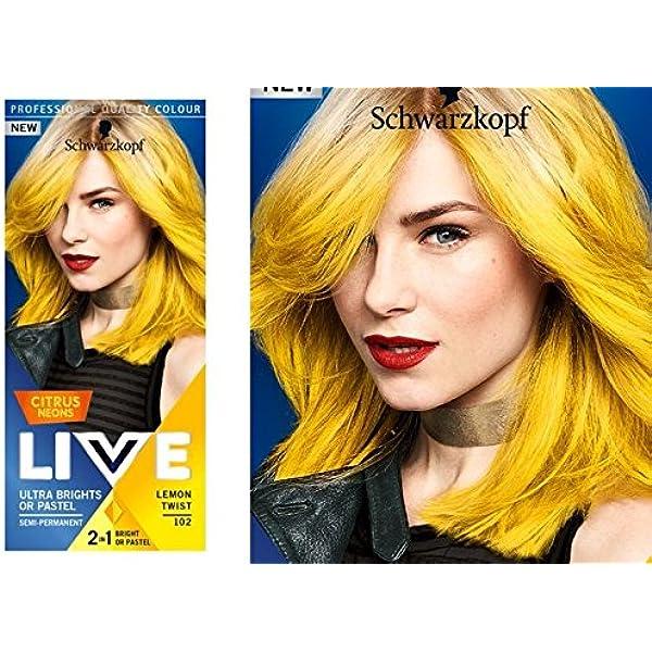 Schwarzkopf Live Semi Permanente Color Citrus NeonS 107 ...