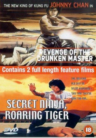 Revenge of the Drunken Master/Secret Ninja, Roaring Tiger ...