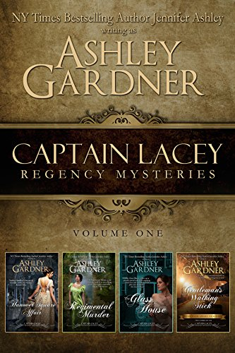 Captain Lacey Regency Mysteries Volume One cover