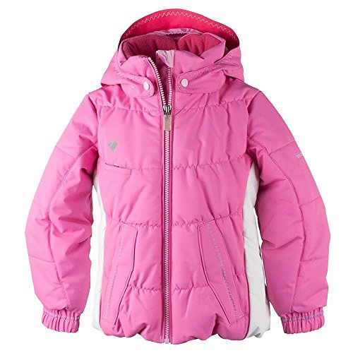 Obermeyer Kids Baby Girl's Marielle Jacket (Toddler/Little Kids/Big Kids) Peony Pink 6 by Obermeyer Kids