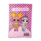 LOL Glitter Gal Plush Blanket 62″X90″