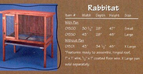 Ware Manufacturing HD Small Rabbit Hutch (Ware Hd Rabbit Hutch compare prices)