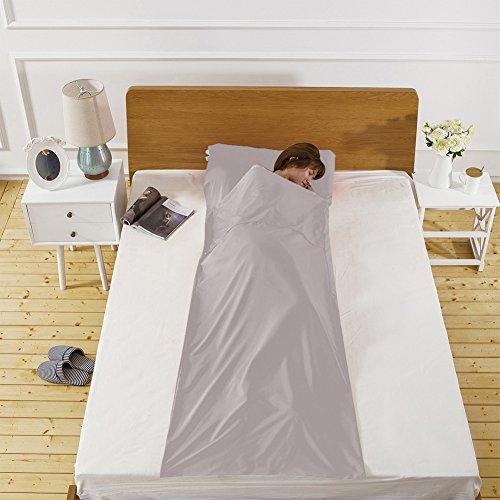 WELOVE - Sábana para Saco de Dormir de algodón, para Camping, Camping, Viaje, Camping, Picnic, Viaje, Dormir, para Viajes,...