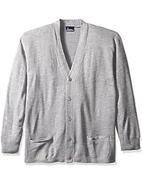 Classroom Men's Plus Size Adult Unisex Cardigan Sweater 2xl-3xl