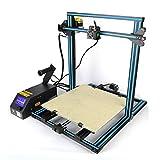 "Luxnwatts Creality CR-10 3D Printer DIY Self-assembly Desktop 3D Printer Kits Max 11.8"" x 11.8"" x 15.8"" Printing Size For 1.75mm PLA Filament"
