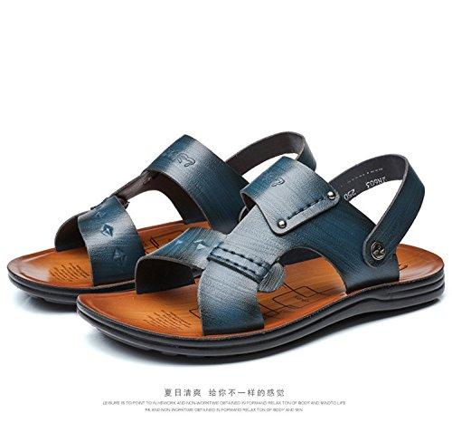 primavera estate Il nuovo Uomini sandali moda Spiaggia Uomini scarpa Tempo libero sandali ,blu,US=9,UK=8.5,EU=42 2/3,CN=44