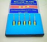 1 holder +15pcs 5x30+5x45+5x60 Blades for Roland