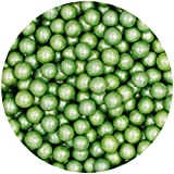 Natural 6mm Green Nuts Dairy Soy Gluten GMO Free shimmer Pearls Bulk Pack