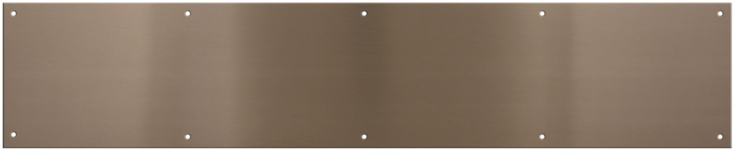 National Hardware V1996 KickPlate, Pewter, 6-by-30-Inch