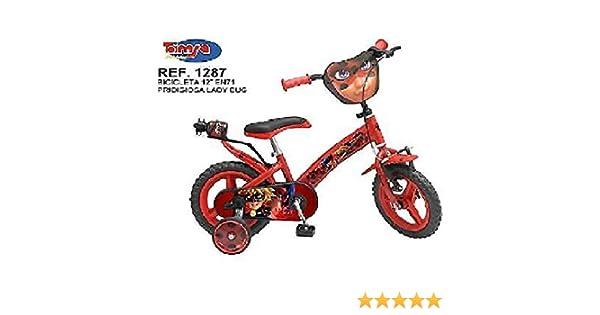 Toim - Bicicleta para niños Ladybug Prodigiosa Miraculous, Medida ...