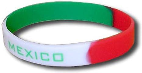 Supportershop – México Pulsera Silicona Fútbol, Verde, FR: Talla Unique (Talla Fabricante: Talla One sizeque): Amazon.es: Deportes y aire libre