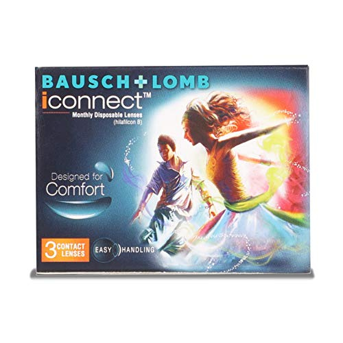 Bausch & Lomb I Connect Contact Lense – 3 Pieces