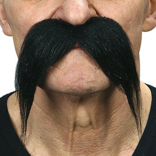 Kung Fu Master Adult Costumes (Kung-fu master black fake mustache, self adhesive)