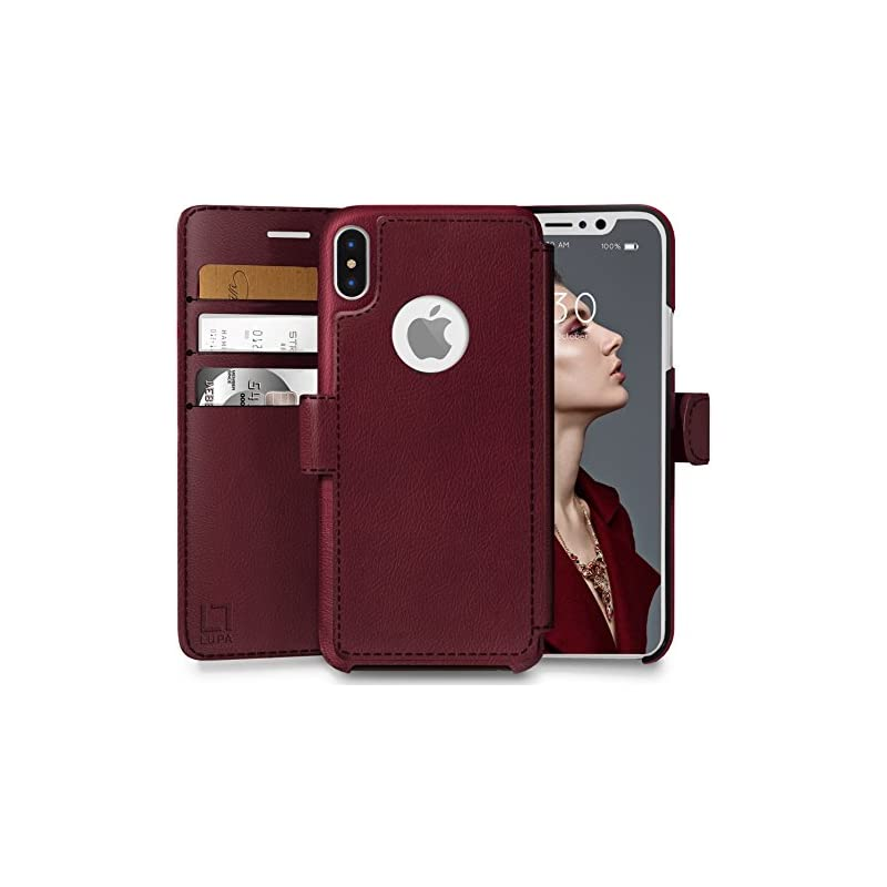 LUPA iPhone Xs Wallet case, iPhone X Wal