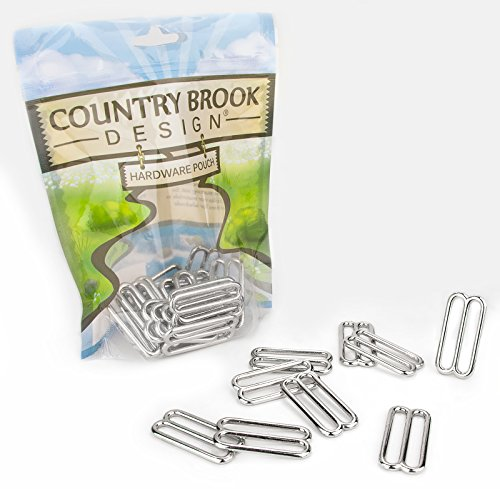 20 - Country Brook Design 1 1/2 Inch Metal Round Triglide - Rounds Metal