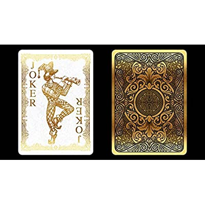 Bicycle Gold Playing Cards Poker Size Deck USPCC Custom Limited Edition: Sports & Outdoors