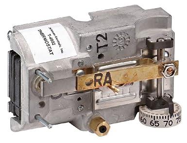 Johnson controls t-4002 – 9008 neumático termostato, da, 55 a 85 grados