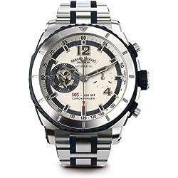 Armand Nicolet Men's A714AGU-AK-MA4710GU S05 Analog Display Swiss Automatic Silver Watch