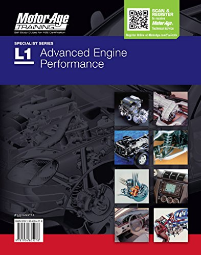 ASE Study Guide DVD L1 Advanced Engine Performance Certification by Motor Age Training (Air Induction System)