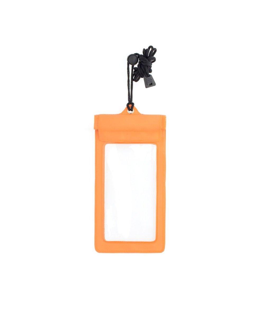 promo code 2ca89 16280 Kikkerland Waterproof Phone Bag, Orange