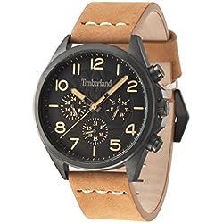 Timberland 14400JSU-02 Mens Bartlett Tan Chronograph Watch