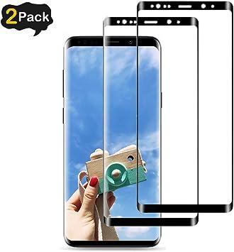 2-Pack] Protector Pantalla Compatible con Samsung Galaxy S9, [9H ...