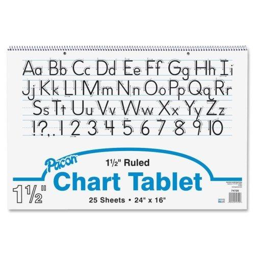 (Pacon Ruled Manuscript Chart Tablets - 1 Each)