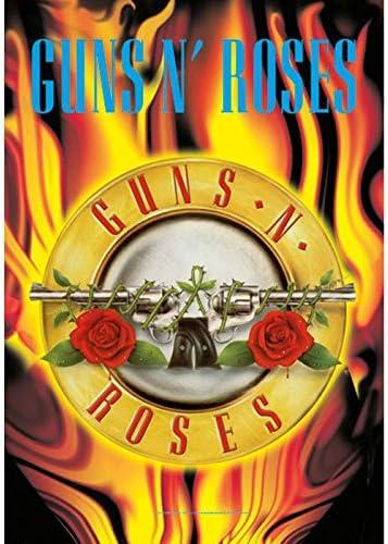 30x40 Circle Flames Textile Poster /… Guns N Roses