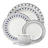 Lenox 869065 5 Piece Geodesia Place Setting Dinnerware Set, Blue Review
