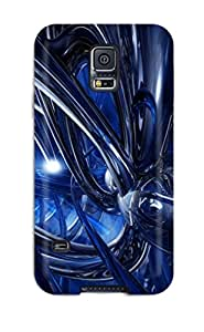 Ideal Alex D. Ulrich Case Cover For Galaxy S5(fluid Blue Dynamics Abstract Other), Protective Stylish Case