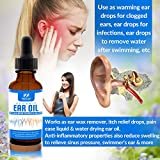 Organic Ear Oil for Ear Infections - Natural