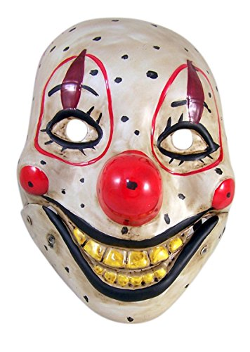 (Scary Clown Doll Face Halloween Costume)