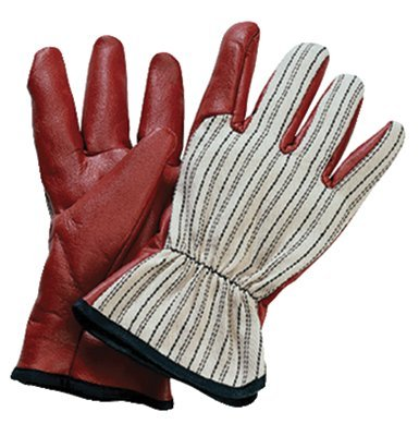 North by Honeywell 85/3729L WORKNIT CUT AND SEWN NITRILE GLOVES W/ BLK STRIP (Set of 12/EA) ()