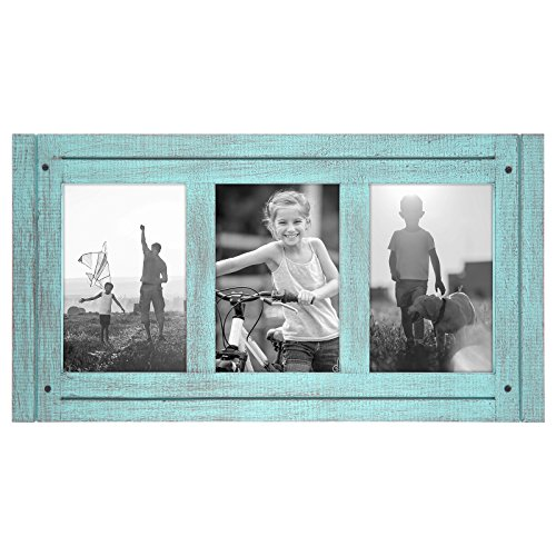 Americanflat Turquoise Collage Distressed Built product image