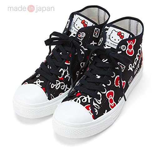 Sanrio Hello Kitty high-cut sneakers 24cm From Japan New (Show Me Pictures Of Monster High)