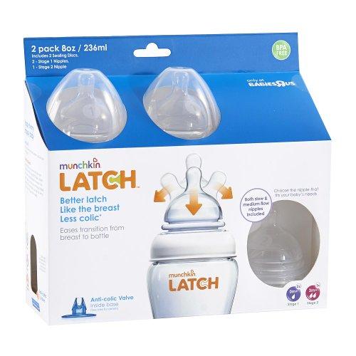 Munchkin Latch Ounce Bottle Nipple