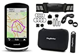 Garmin Edge 1030 Cycle Bundle | with Garmin Chest Strap HRM, Speed & Cadence Sensors, PlayBetter Portable USB Charger & Hard Carrying Case, Bike Mounts, USB Cable | GPS Bike Computer, Navigation