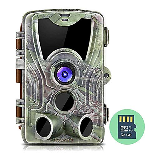 Buy Crenova Crenova 16MP 1080P HD Trail Camera, 2019