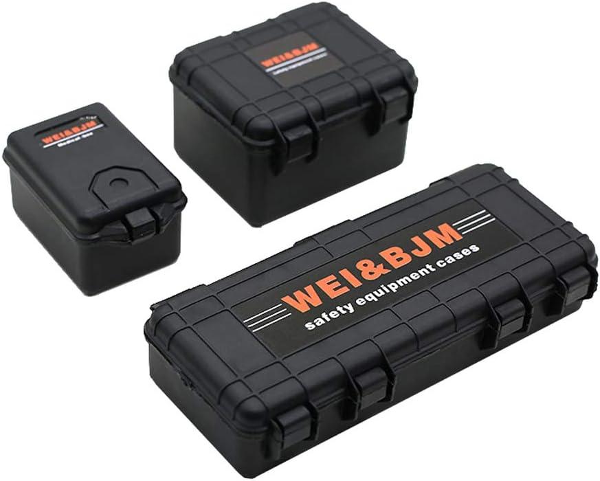 5x 1:10 Plastic RC Car Crawler Models Battery Box Tray Case for TRX4 Axial