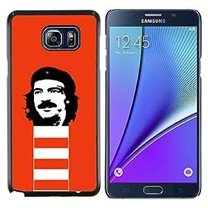 Stuss Case / Funda Carcasa protectora - Cara Rebel divertido - Samsung Galaxy Note 5 5th N9200