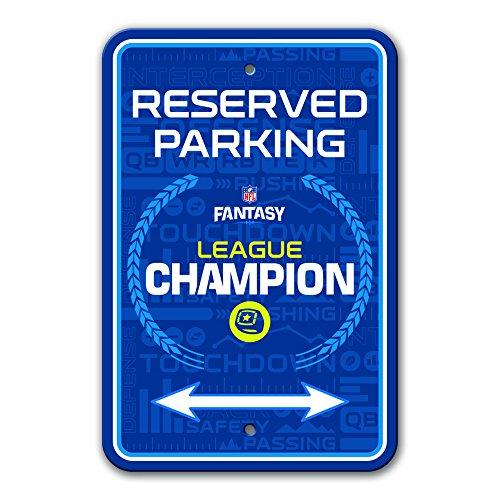 Fremont Die NFL Fantasy Football Parking Sign, Champion, 12